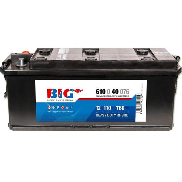 BIG Premium 12V 110Ah 760A DIN 61040