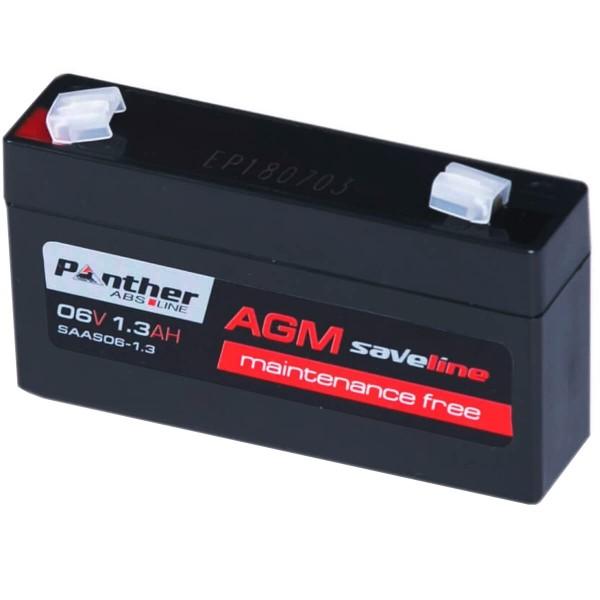 Panther saveline AGM Bleiakku 6V 1.3Ah