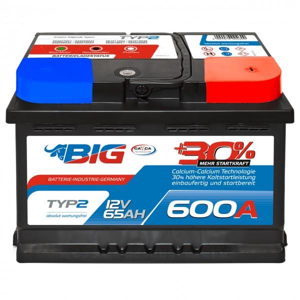 BIG Silver Edition +30% 12V 65Ah 600A/EN