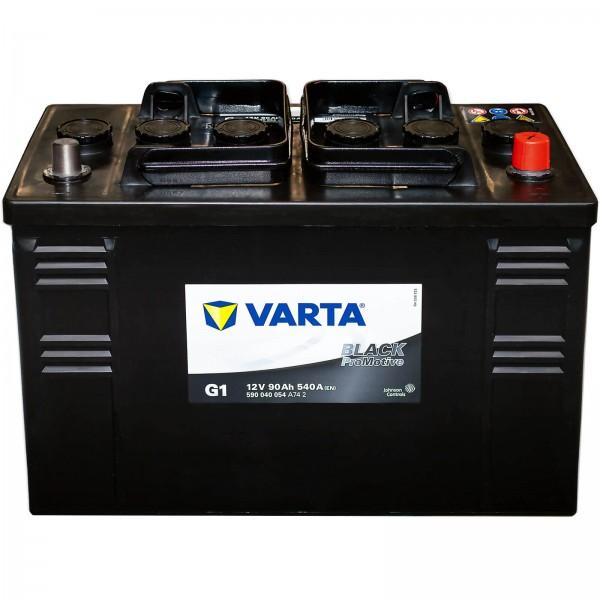 Varta G1 Promotive Black 12V 90Ah 540A