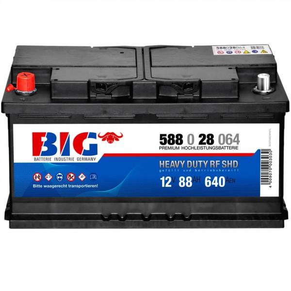 BIG Premium 12V 88Ah 640A DIN 58828