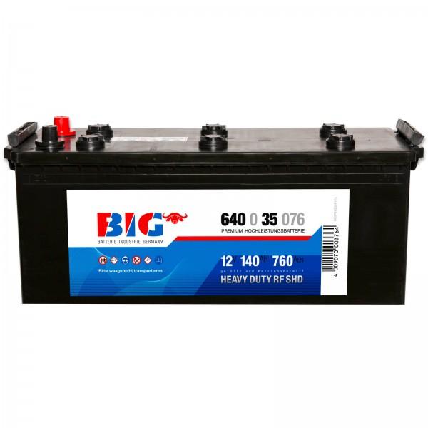 BIG Premium 12V 140Ah 760A DIN 64035