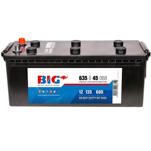BIG Premium 12V 135Ah 680A DIN 63545
