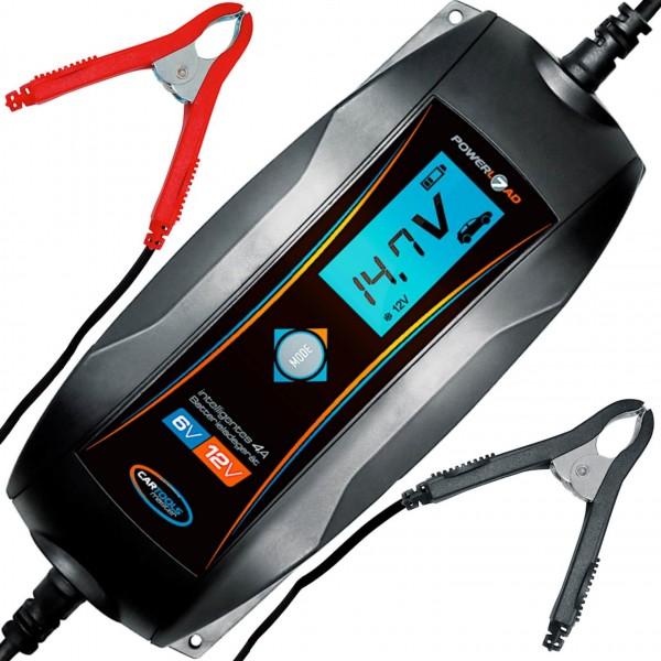 Batterieladegerät Autobatterie 4A Ladegerät 12V und 6V