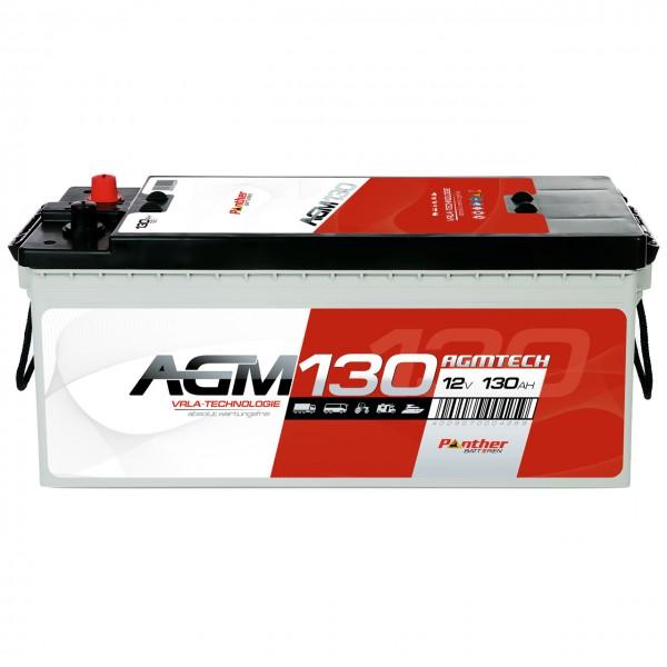 Panther AGM130 12V 130Ah Versorgungsbatterie