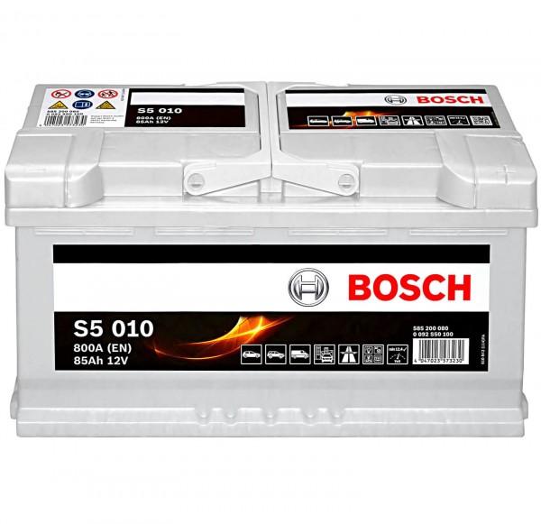 Bosch 12V 85Ah S5010 Batterie 0092S50100