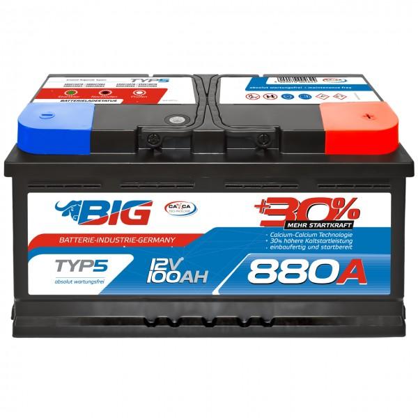 BIG Silver Edition +30% 12V 100Ah 880A/EN