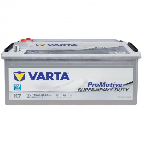 Varta K7 Promotive Silver 12V 145Ah 800A