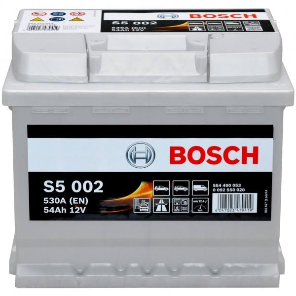 Bosch 12V 54Ah S5002 0092S50020