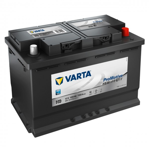 Varta H9 Promotive Heavy Duty 12V 100Ah 720A