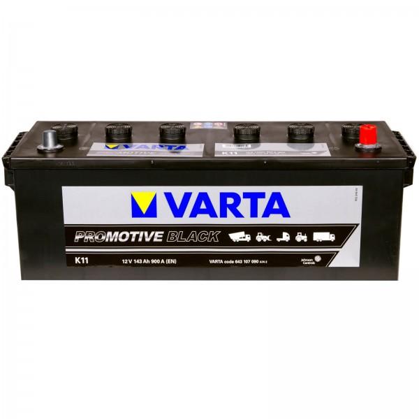 Varta K11 Promotive Black 12V 143Ah 900A