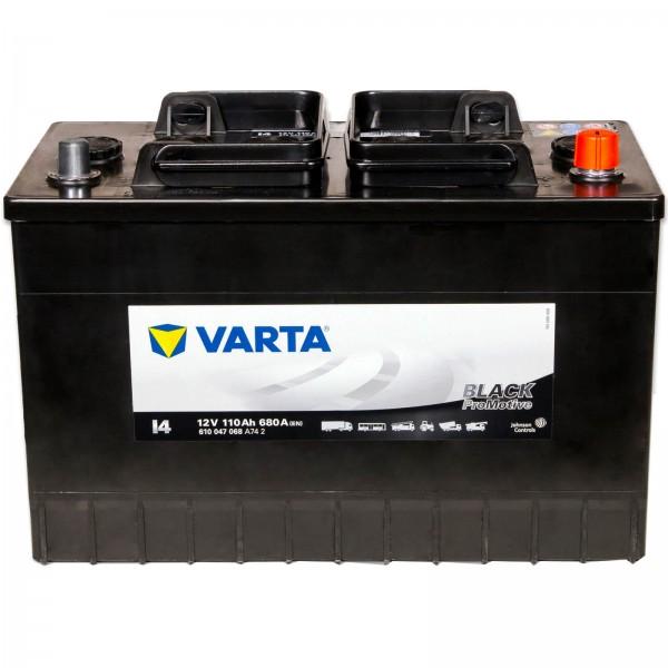 Varta I4 Promotive Black 12V 110Ah 680A