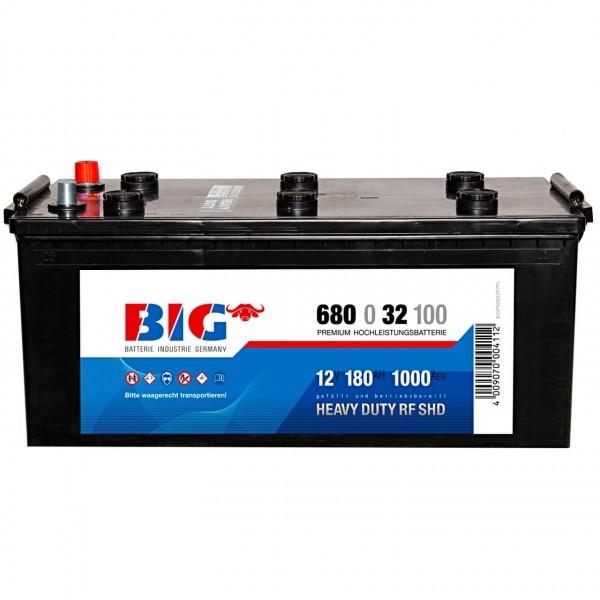 BIG Premium 12V 180Ah 1000A Starterbatterie 68032