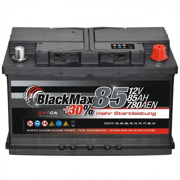 BlackMax +30 Edition Starterbatterie 12V 85Ah 780A