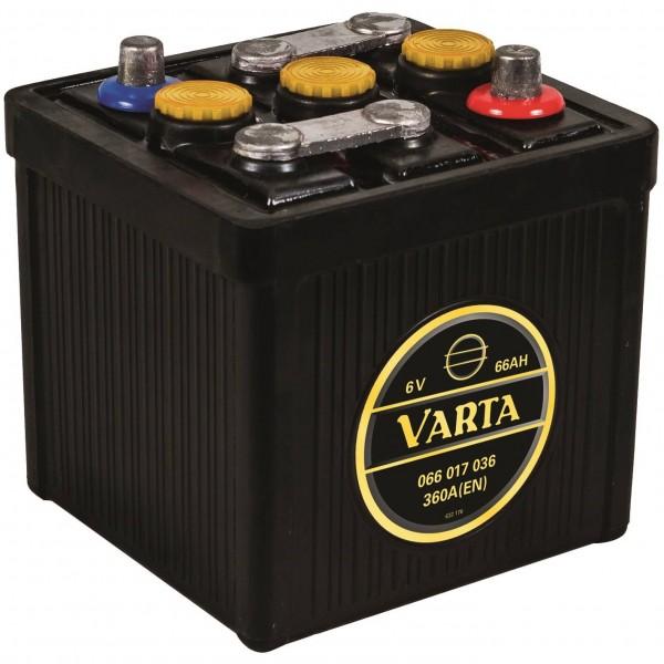Varta Classic Oldtimer 6V 66Ah 360A DIN 06617