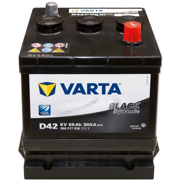 Varta D42 Black Dynamic 6V 66Ah 360A/EN