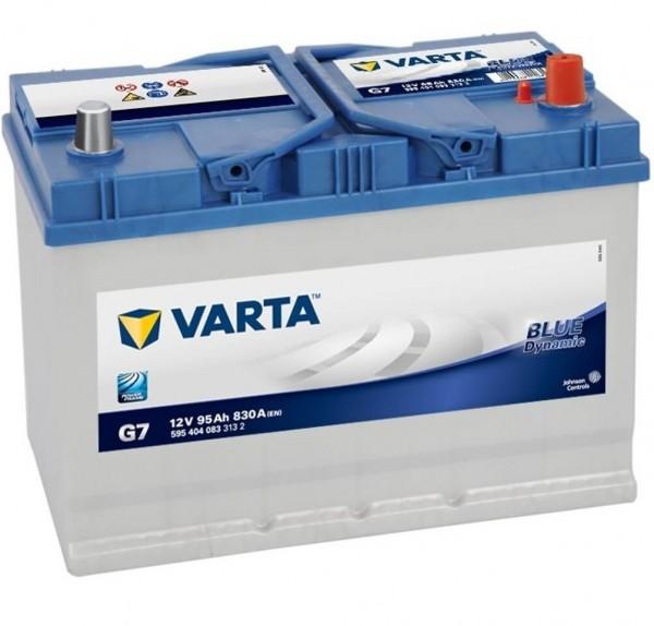 Varta Blue Dynamic G7 - 12V 95Ah 830A/EN