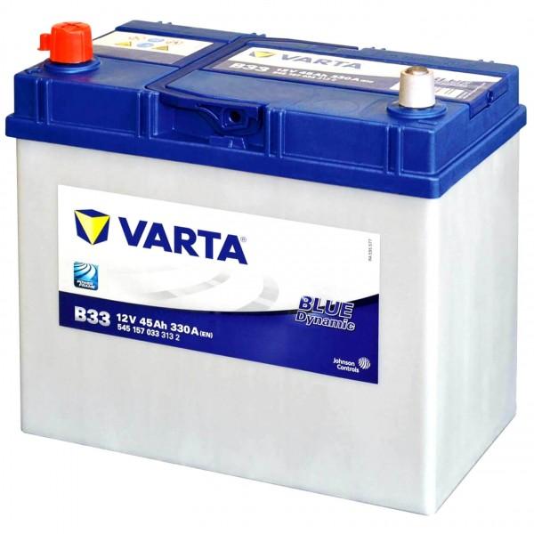 Varta B33 Starterbatterie 12V 45Ah 330A