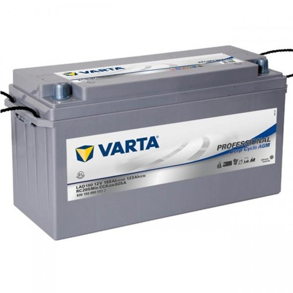 Varta LAD150 Professional DC AGM 12V 150Ah Versorgerbatterie