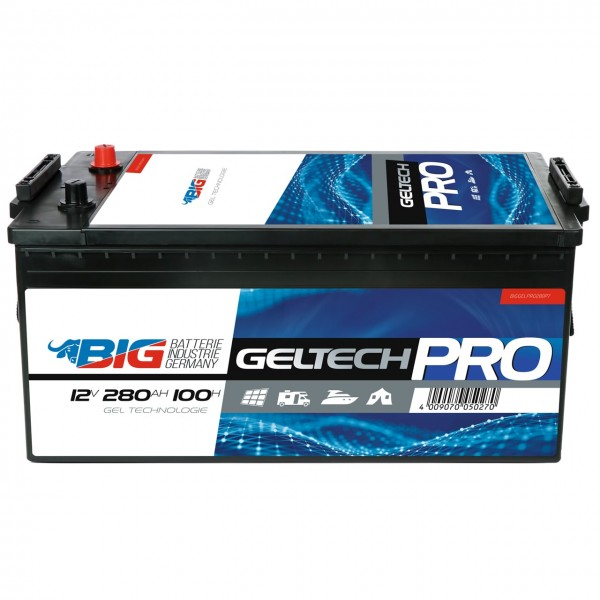 BIG GELTECH PRO GEL 12V 280Ah C100