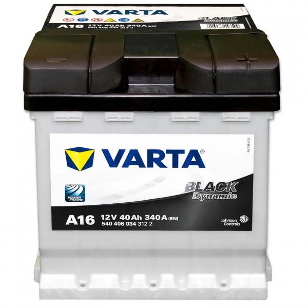 Varta A16 Black Dynamic 12V 40Ah 340A