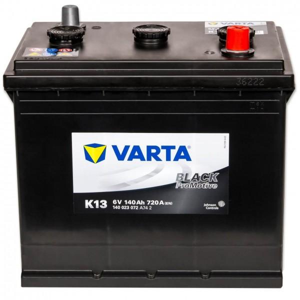 Varta K13 Promotive Black 6V 140Ah 720A