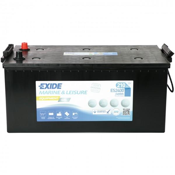 Exide Equipment Gel ES2400 12V 210Ah