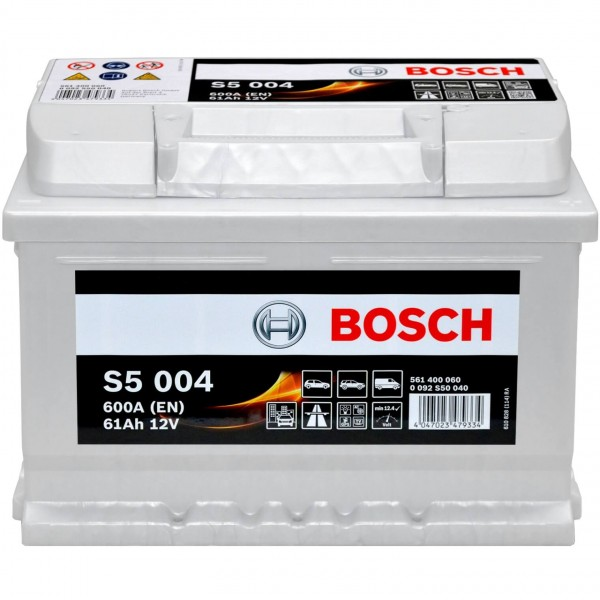 Bosch 12V 61Ah S5004 Batterie 0092S50040