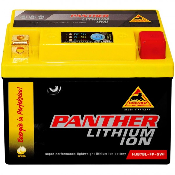 Panther Lithium Motorradbatterie 12V HJB7BLFP