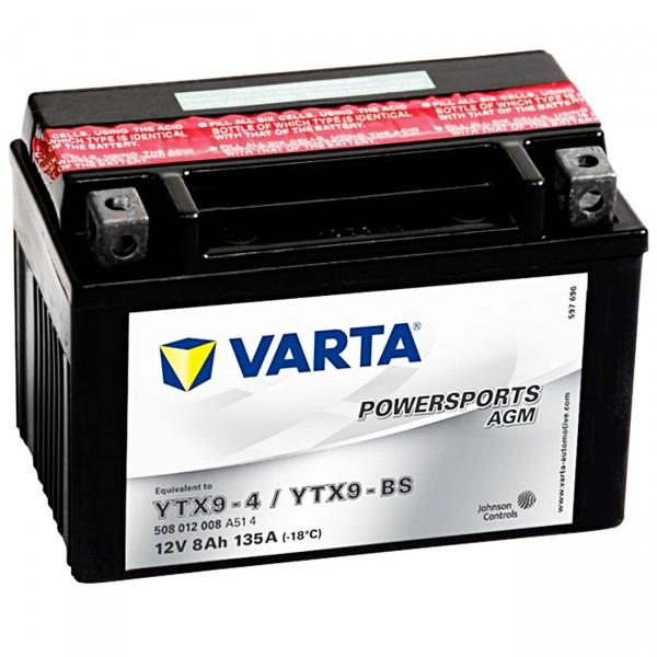 Varta Powersports AGM 12V 8Ah