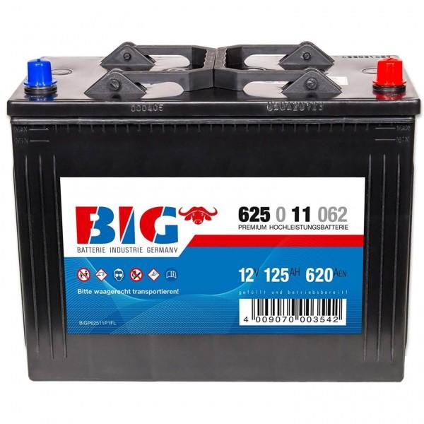BIG Premium 12V 125Ah 620A DIN 62511