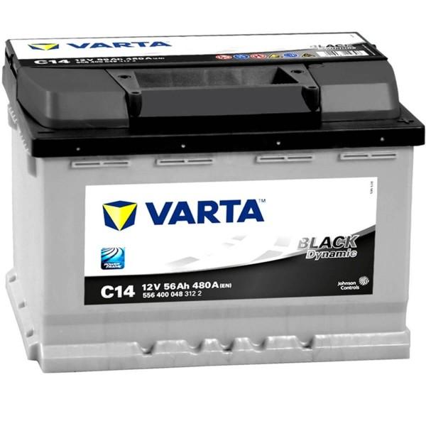 Varta Black Dynamic C14 12V 56Ah 480A