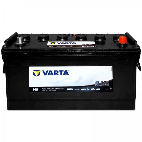 Varta H5 Promotive Black 12V 100Ah 600A