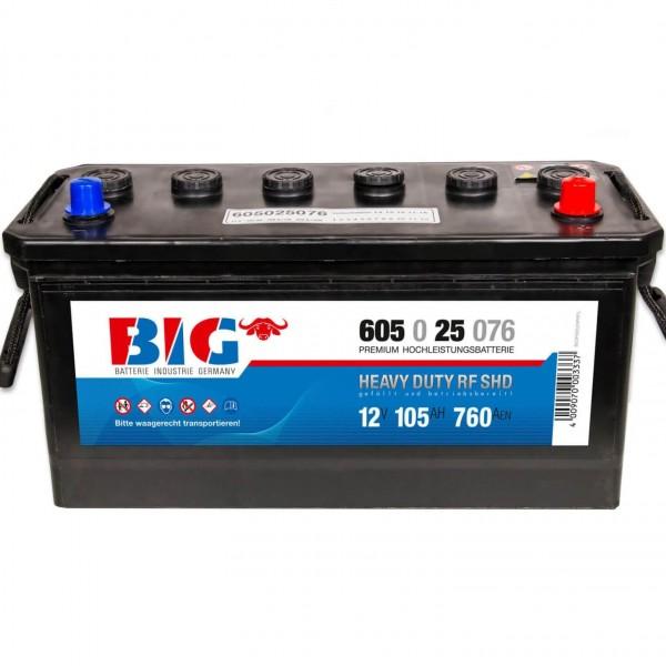 BIG NFZ 12V 105Ah 760A DIN 60525