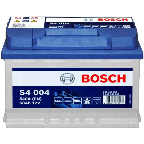 Bosch 12V 60Ah S4004 Batterie 0092S40040