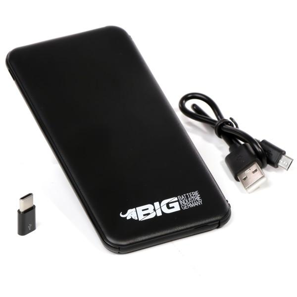 PowerBank 5000 mAh Li-Ion Ladegerät Akku Batterie PowerPack Power Bank USB 2,1A