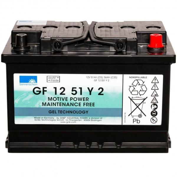 Sonnenschein GEL 12V 56Ah GF12051Y2