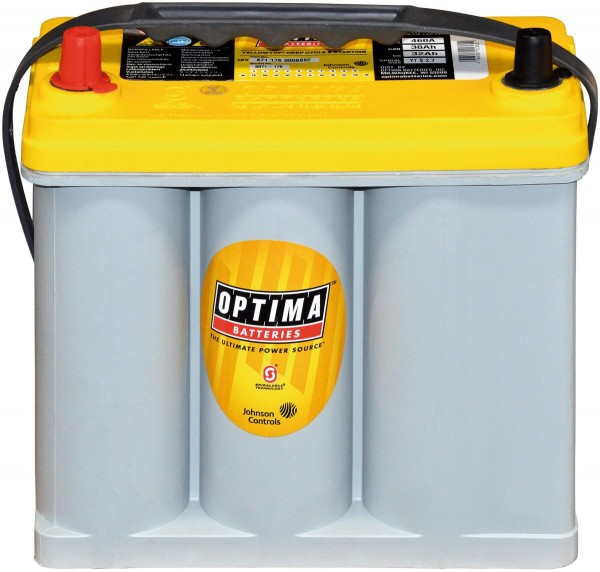 Optima YellowTop YT S 2,7 L 12V 38Ah 510A/EN