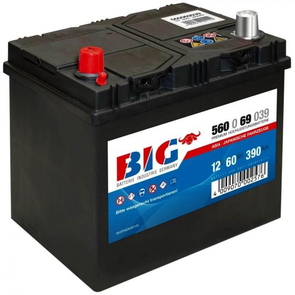 BIG Premium 12V 60Ah 390A DIN 56069