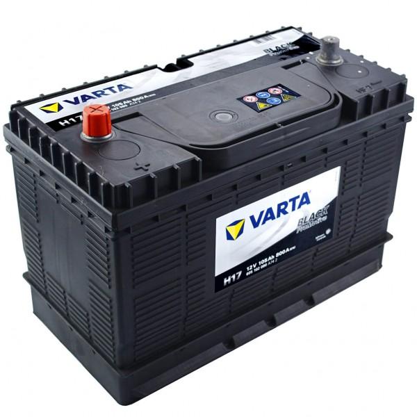 Varta Promotive Black H17 12V 105Ah 800A