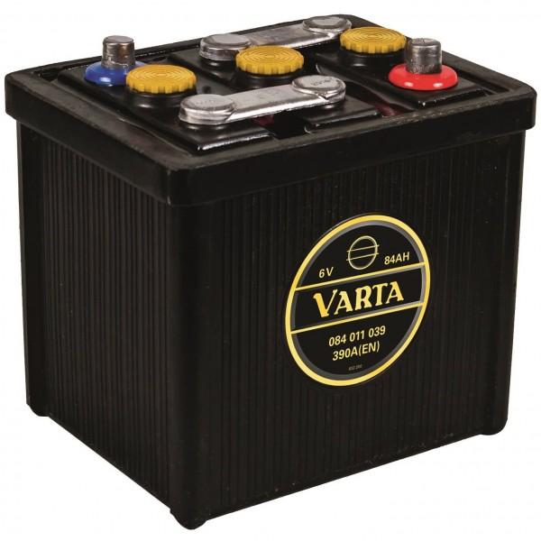 Varta Classic 6V 84Ah 390A DIN 08411