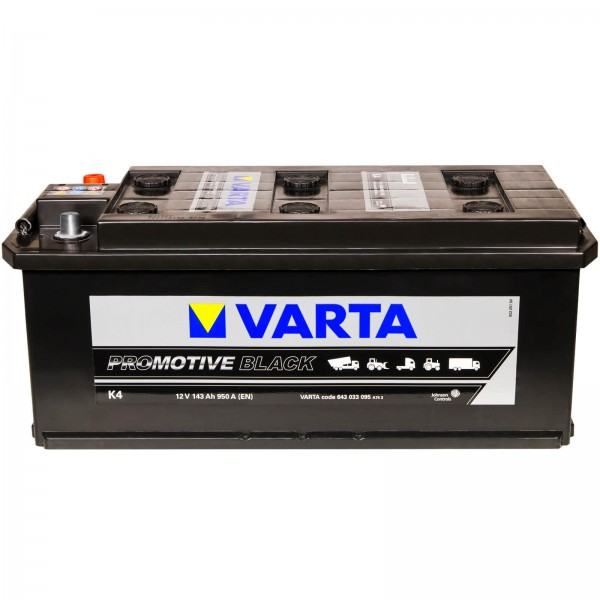 Varta K4 Promotive Black 12V 143Ah 950A
