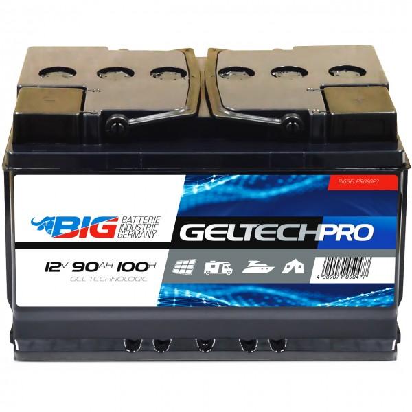 BIG GELTECH PRO GEL 12V 90Ah C100