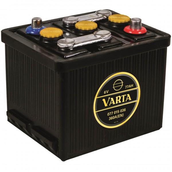 Varta Classic 6V 77Ah 360A DIN 07715