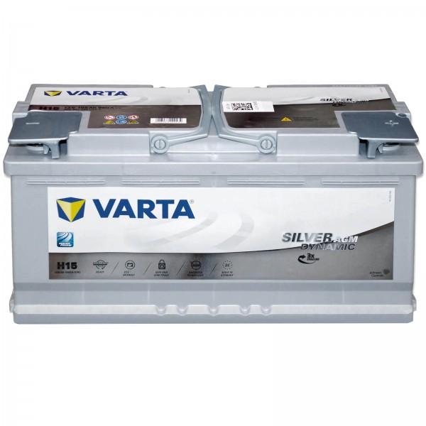 Varta H15 Start Stop 12V 105Ah 605901095B512