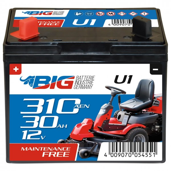 GreenMax U1 Garden Power 12V 30Ah 300A