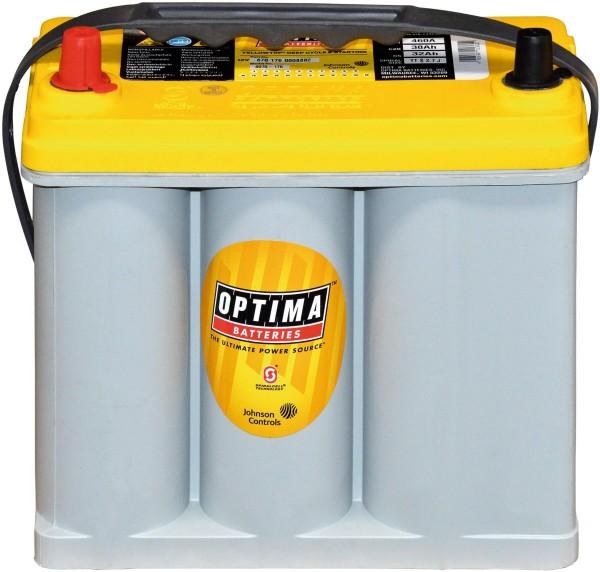 Optima YellowTop YT S 2,7 L 12V 38Ah 510A/EN