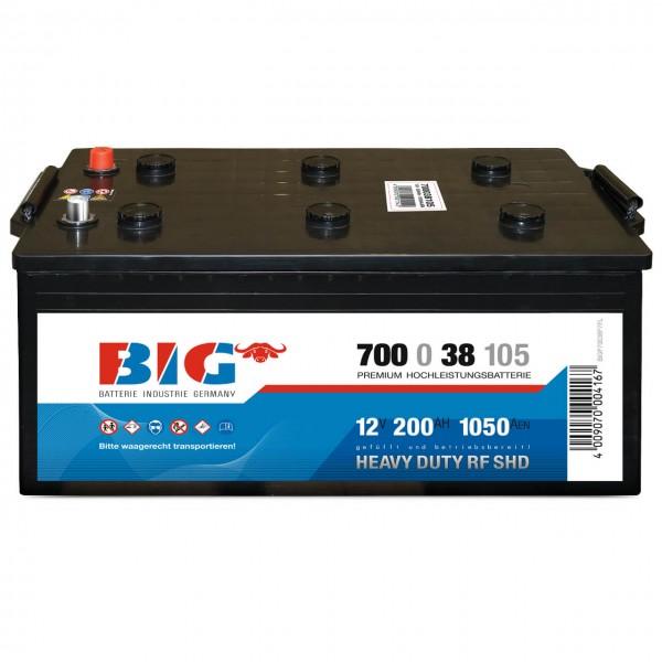 Starterbatterie 70038 BIG Premium 12V 200Ah 1050A 700038105