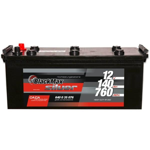 BlackMax LKW-Starter 12V 140Ah Batterie 64035
