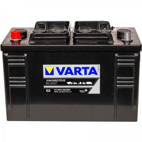 Varta G2 Promotive Black 12V 90Ah 540A